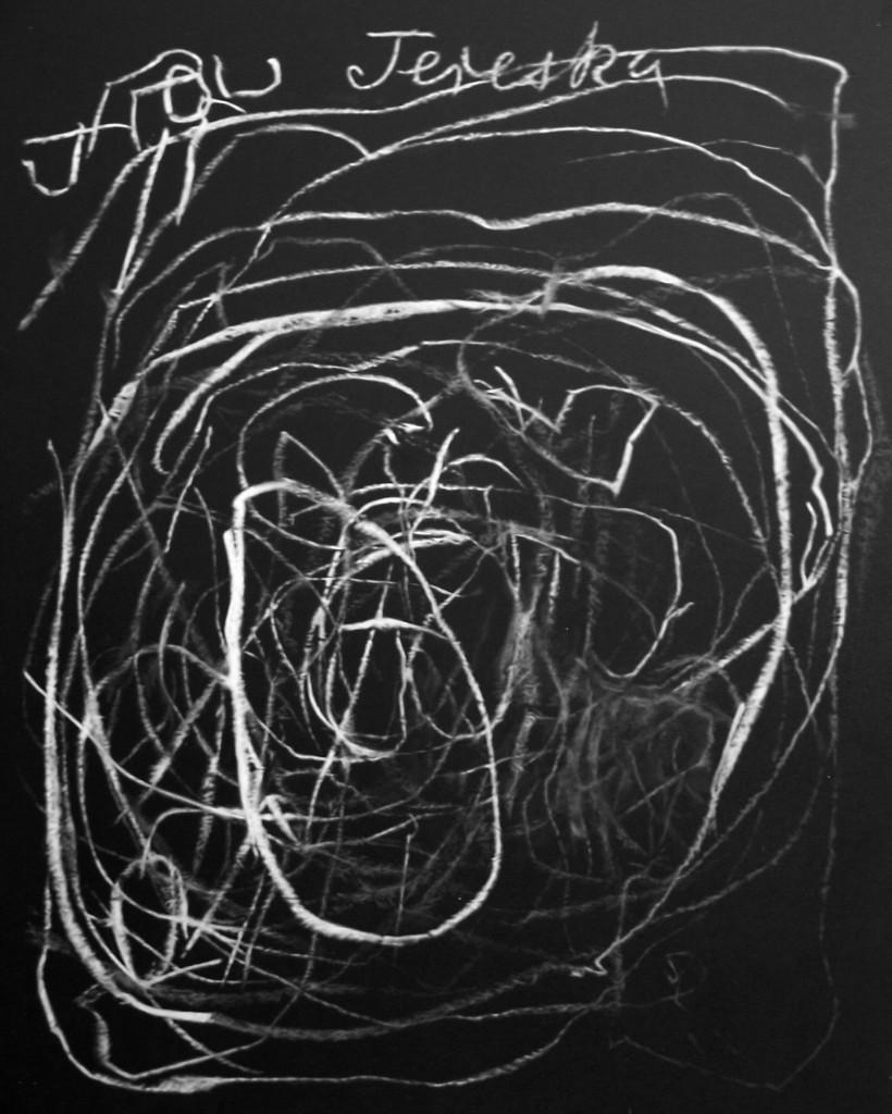 """Matthieu Boucherit, """"The home of Tereska"""" Acrylique sur toile, 116 x 89 cm, 2016"""